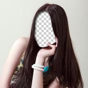 发型师 美容院 妇女 和 改变发型 1