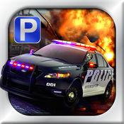 3D Police Car Parking Free - 停车场免费游戏 1.4