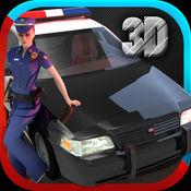 警察车模拟器 3D-粉碎强盗 1.0.1