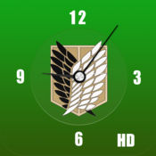 AoT 时钟 - 进击的巨人时钟 HD