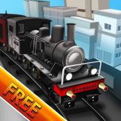 Architect Train Ville Puzzle : 镇铁路道口的城市 - 免费