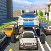 升高的汽车驾驶模拟器先生主席护送 3D 1