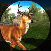 鹿狩猎野生森林与狙击手 1