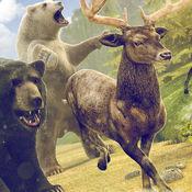 鹿 赛跑 比赛 | 免费 鹿神 冒险 游戏 的 孩子 1.0.1