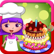 朵拉开心学做蛋糕(欢乐盒子)儿童益智烘焙蛋糕做法大全游戏免费2-5岁6岁3岁