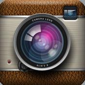 复古风格即时成像相机