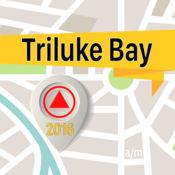 Triluke Bay 离线地图导航和指南 1