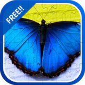 蝴蝶和Bug拼图游戏为孩子1-3 1