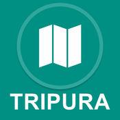 特里普拉邦,印度 : 离线GPS导航 1