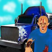 致命的赛车卡车格斗的僵尸入侵启示 - 免费版 1