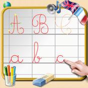 学习写的英文字母 - 英语和法语的声音 1.1