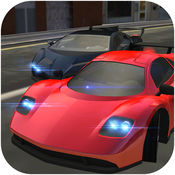 Extreme Super Sports Car City Traffic Drive and Real A