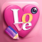 图片编辑器添加浪漫的行情和可爱的消息到你的照片