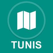 突尼斯,突尼斯 : 离线GPS导航 1