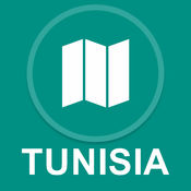 突尼斯 : 离线GPS导航
