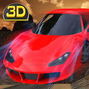 疯狂越野小山车特技 3D-现实坡道跳跃,漂流 & 驾驶模拟器 1