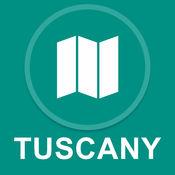 托斯卡纳,意大利 : 离线GPS导航 1