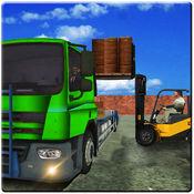 模拟卡车运送水...