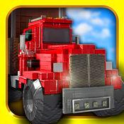 Truck Survival Block Games - Mine Monster 免费 我的世