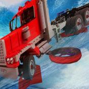 卡车波赛车 - 怪物卡车赛车游戏 1