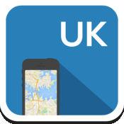 英国(英格兰) 离线地图,指南,天气,酒店。免费导航。 1