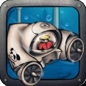 熊猫炮船挑战 - 僵尸底下的青蛙狩猎水上世界 1.1.1