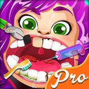 名人公主牙医 游戏的小天使的医生诊所 游戏的孩子