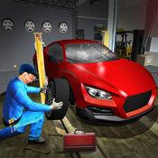 体育汽车种族坑停止:汽车机械师 1