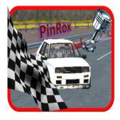 体育赛车 - 山冲刺游戏 1