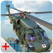 陆军直升机救护3...