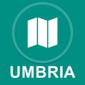 意大利翁布里亚 : 离线GPS导航