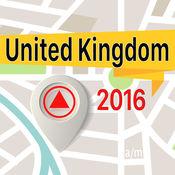 英国 离线地图导航和指南