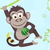 疯狂的猴子水果...
