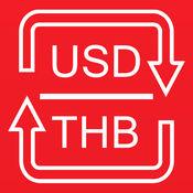 转换美元为泰铢 - 转换泰铢为美元 1.0.0
