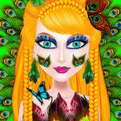 童话 公主 孔雀 1