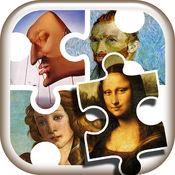 名画 拼图 游戏 - 免费 游戏的 艺术 为 孩子 们 训练 你的