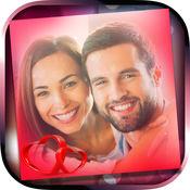 爱情头像照片 – 情人节社交网络照相机图片编辑器 1