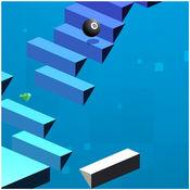 楼梯弹跳 - 滚球天空 1