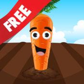 免费 儿童拼图 教我食物:学习牛奶产自奶牛,香蕉长在树上,种子