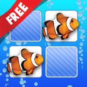 免费 记忆游戏 海洋动物照片 4