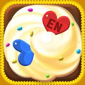 幸福纸杯蛋糕,幼儿教育游戏,妈妈和孩子们的游戏-EN 1