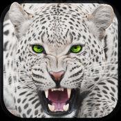野生雪豹模拟器3D - 大猫狩猎和野生动物追逐动物的山 1