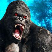 流浪野生大猩猩饥饿模拟器:愤怒的猴子攻击 1