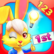 Wonder Bunny:好奇小兔数学赛跑:一年级应用 1.4.2