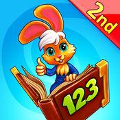 Wonder Bunny:完成好奇小兔数学:二年级版