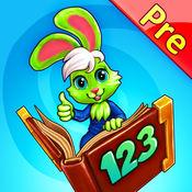 好奇小兔数学赛跑:学前应用-数字,加法,减法完成 1.3.3
