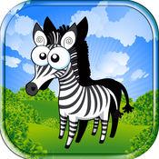 動畫片 动物园 动物农场 排序 形狀 游戏与学习 : 小农场