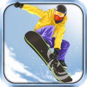 滑雪板游戏免费 ( Fresh Powder Snowboarding Games ) 1