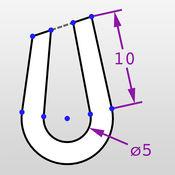 截至平局 - 创建具有约束和尺寸二维图纸 2.1.1