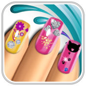 美甲沙龙对于时尚女孩 - 虚拟修指甲游戏与美丽的设计 1.1